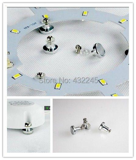 Оптовая продажа с фабрики Цена 12 мм Светодиодная лампа потолка магниты ног Магнитные винты для лампы пластины, драйвер. 20 штук 5 USD, 50 шт. 10 USD и...