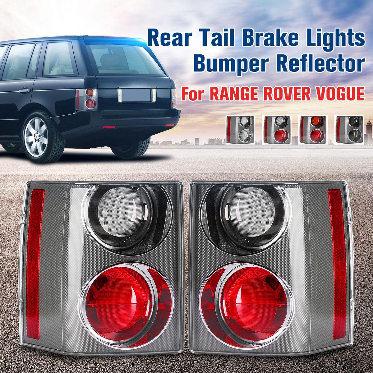 1 Pair Rear Tail Brake Lights Bumper Reflector Tail Brake Stop Light For RANGE for LAND ROVER VOGUE L322 2002 2003 2004 05-2009