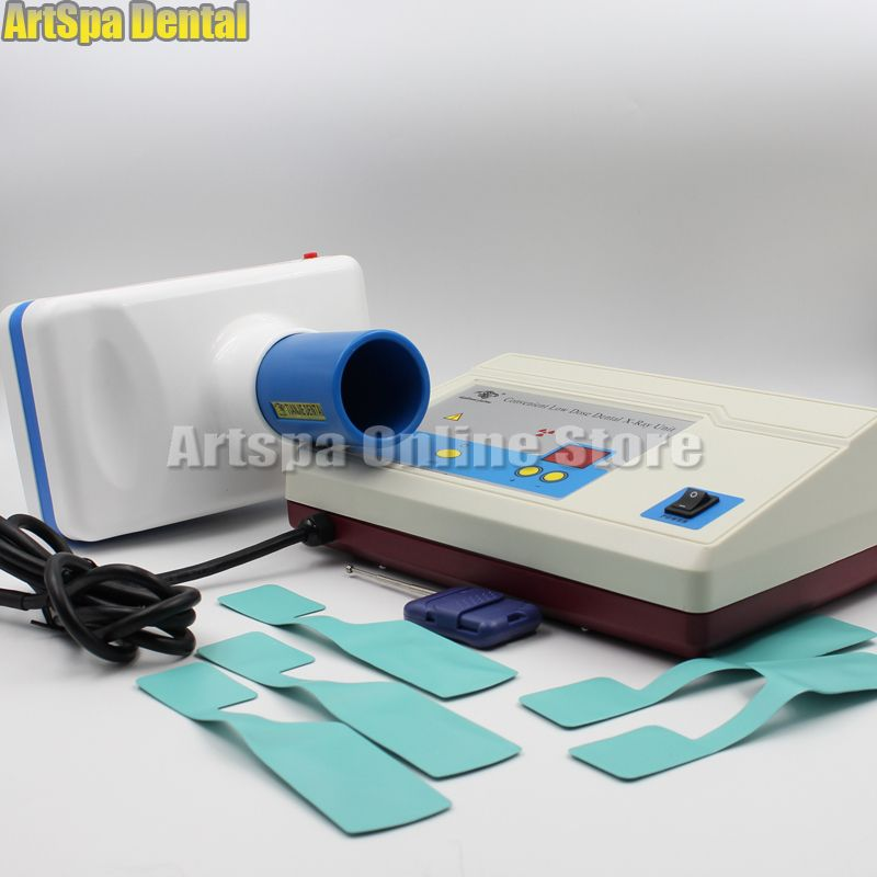 60W Digital Dental Portable Mobile X-Ray Image Unit Machine System Equipment