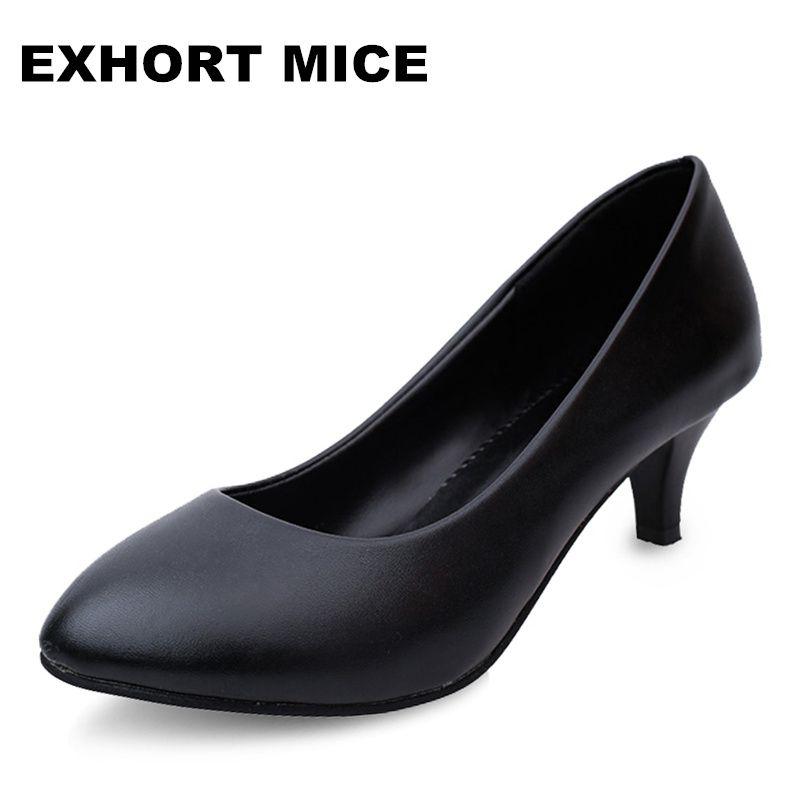 2017 Zapatos de Las Mujeres Bombas de Punta estrecha Suede Ocio Zapatos de Vestir Tacones Altos de Boda Del Barco de tenis femenino Mate 5 cm/4 cm
