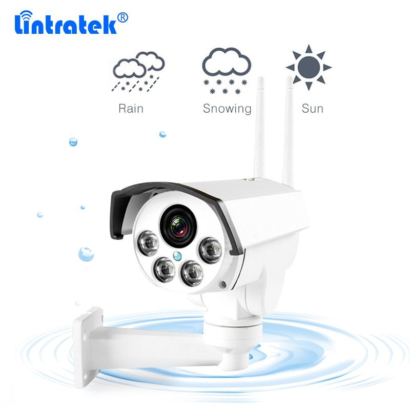 Outside Waterproof CCTV Camera 1.3MP HD-960 Bullet Wireless Wifi IP Camera With Night Vision PTZ Mobile Remote for Store Office