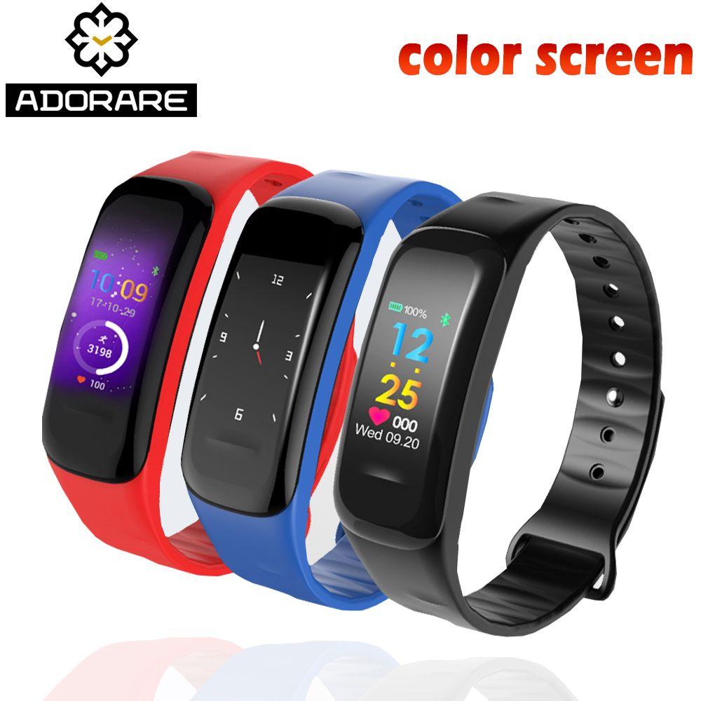ADORARE Smart Watch Sports Heart Rate Monitor Digital Bracelet message reminder Sleep tracker Intelligent reljo relogio masculin