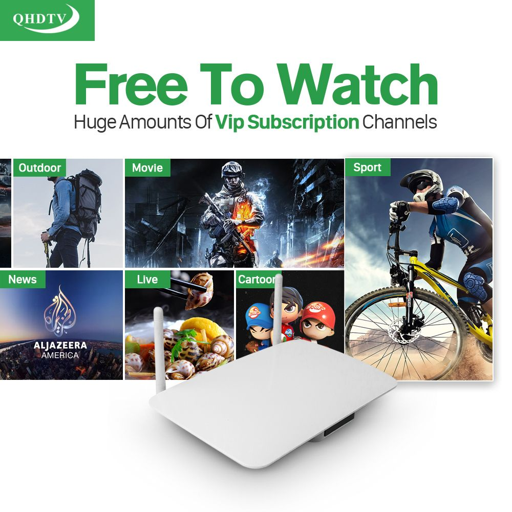 Dalletektv Android IPTV Box RK3229 Android 6.0 QHDTV Arabic IPTV French Germany Netherlands Belgium Morocco GB IPTV subscription