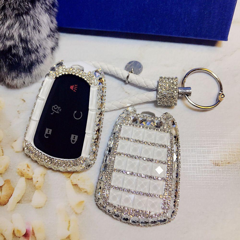 Lunasbore diamond Оболочки держатель дистанционного Ключи чехол для Cadillac xts SLS CTS XTS SRX АТС Для женщин подарок Интимные аксессуары
