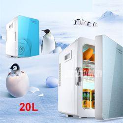 F-L18SA Portable Congélateur 20 L Mini Réfrigérateur Réfrigérateur À La Maison À Une Double fonction Compact Voiture Réfrigérateur 12/220 V Température Variations