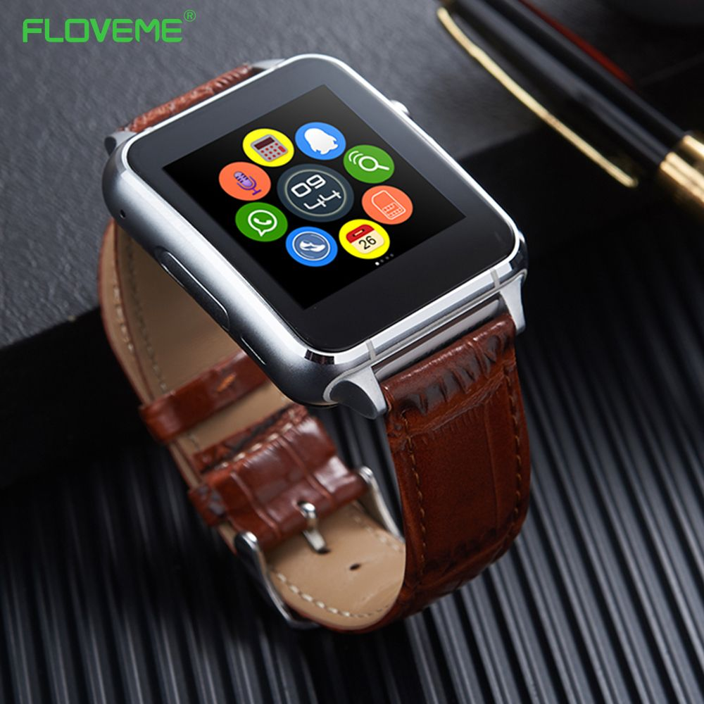 FLOVEME Bluetooth 3.0 Smart Watch Pedometer Anti Lost SIM Card Support E7 Smartwatch For Android Smartphone SIM Notificate Wrist