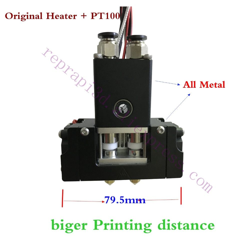 New! Single Or Dual Head Ultimaker 2+ Extended w/ Olsson Block Kit extruder Printhead, Ultimaker 2 3D printer Hot End