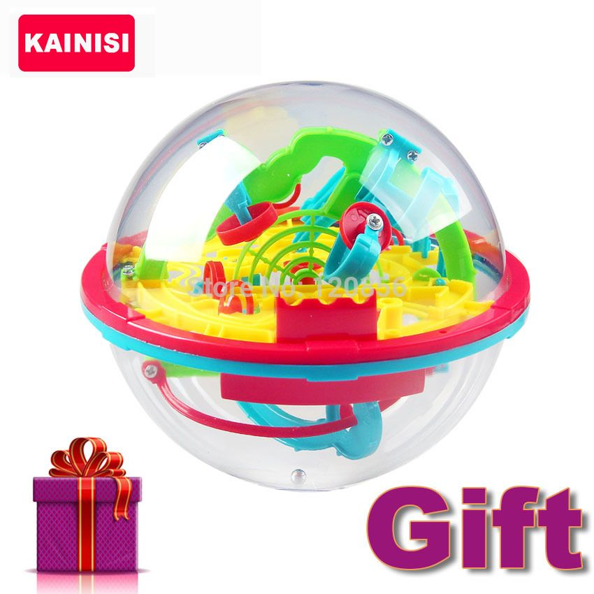 100 Steps 3D puzzle Ball Magic Intellect Ball with gift educational toys Puzzle Balance Logic Ability Game For Children adults