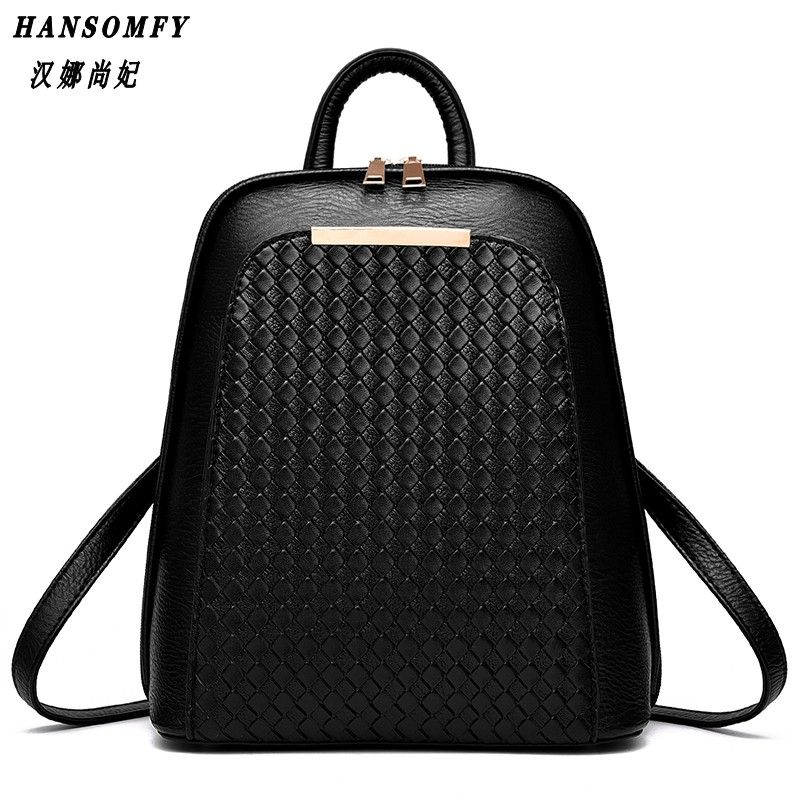100% Genuine leather Women backpack 2018 New Tide female backpack spring summer students fashion casual Korean women bag