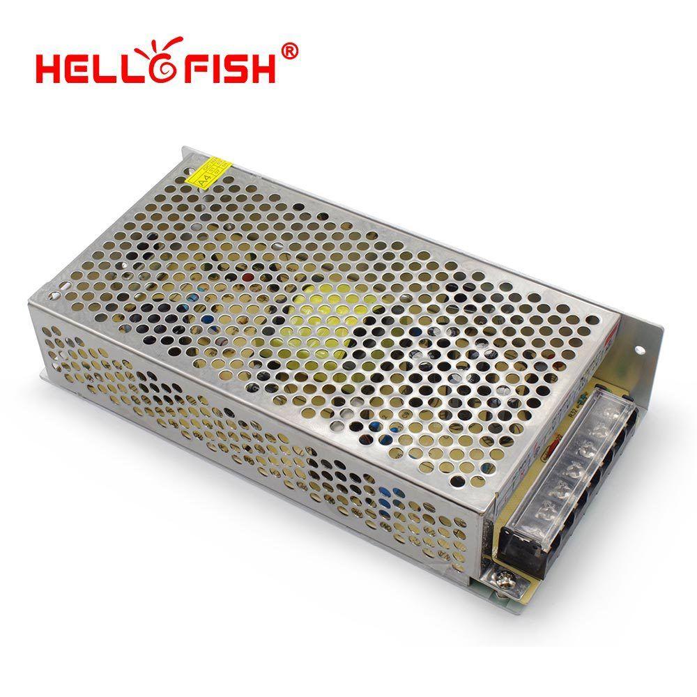 Bonjour Fish 12 V 10A 120 W 12 V a mené l'alimentation de commutation de transformateur de bande