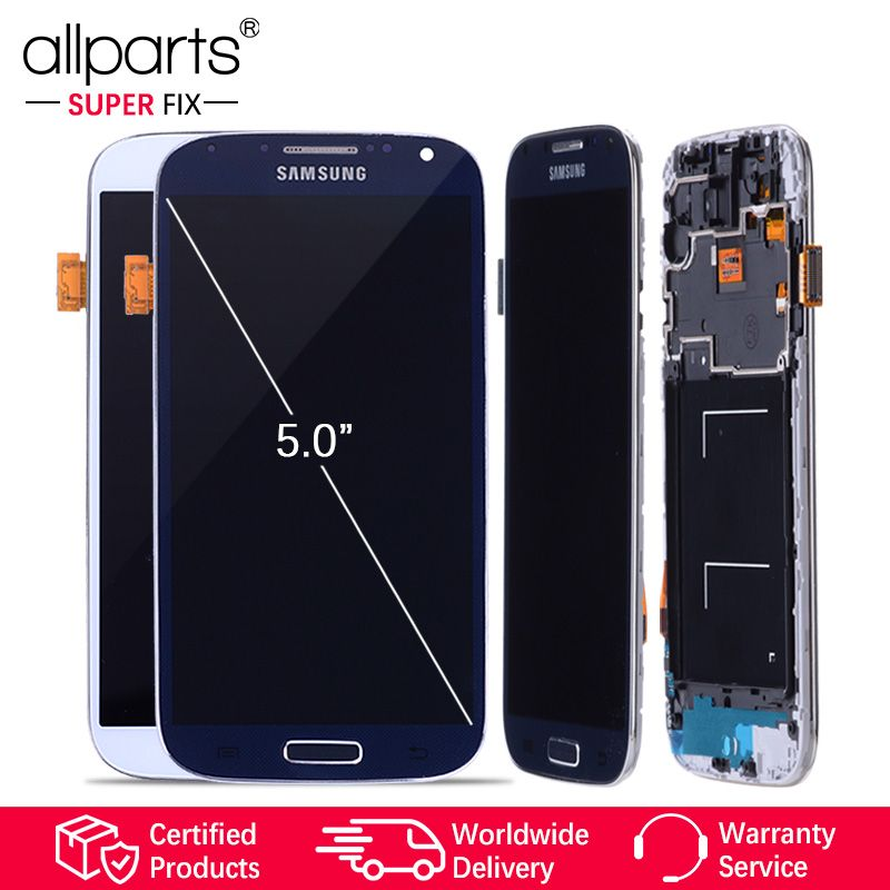 5.0'' IPS LCD For Samsung S4 Display Touch Screen with Frame GT-i9505 i9500 LCD For Samsung Galaxy S4 LCD Display Screen #2