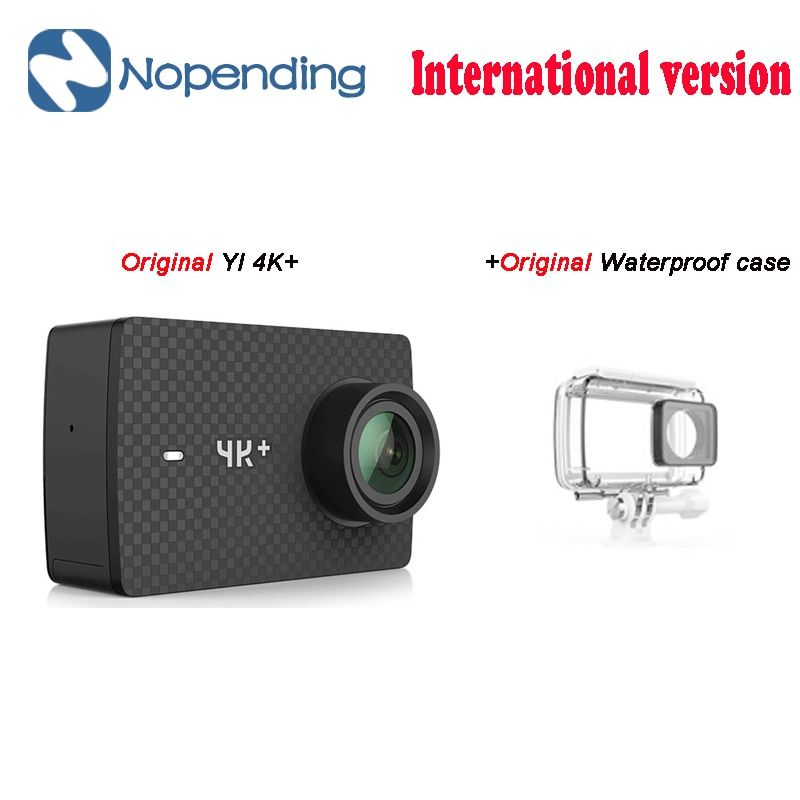 New Original YI 4K+ Action Sport Camera 4K + Xiaoyi 2.19' Ambarella H2 for SONY IMX377 12MP 155 Degree 4K Ultra HD Sports Camera
