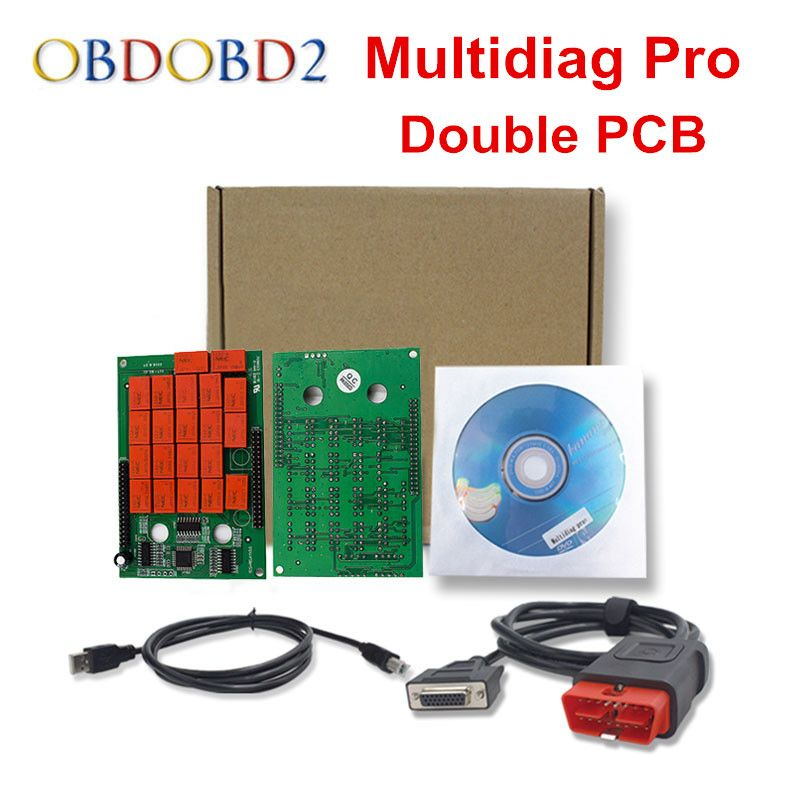 Best Quality Multidiag PRO With Bluetooth Double PCB 2014.R2/R3 Free Keygen For Car/Truck TCS CDP OBD2 Diagnostic Tool