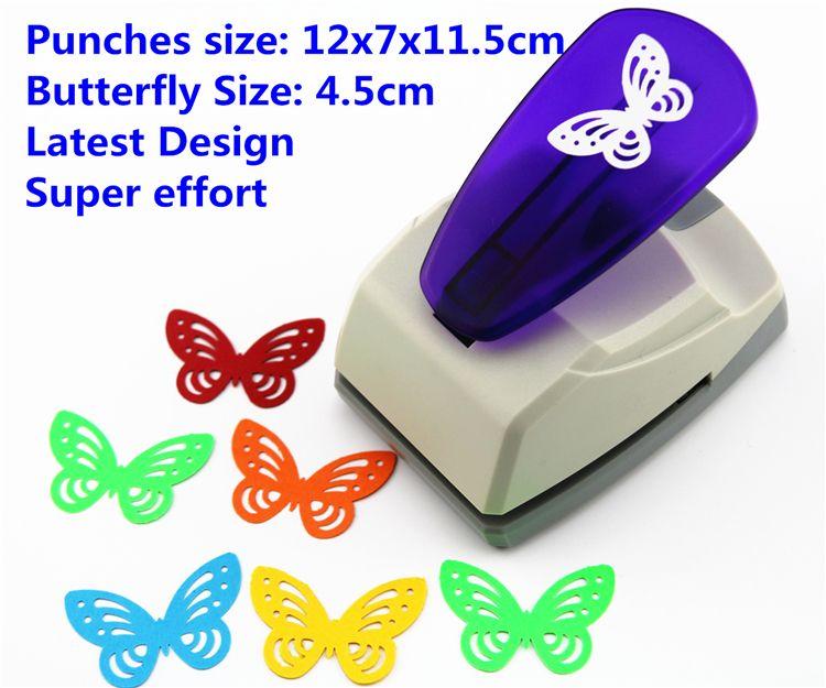 Super Grande Taille Shaper Coup de Poing Craft Scrapbooking papillon Papier Perforateur grande Poinçon de Métier BRICOLAGE enfants jouets