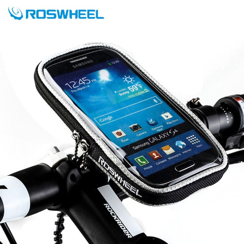 4.2/4.8/5.5/Pouces ROSWHEEL Vélo Mobile Téléphone Écran Tactile Vélo Guidon Sac Sacoches Avant Vélo Panier Selle de vélo Sac