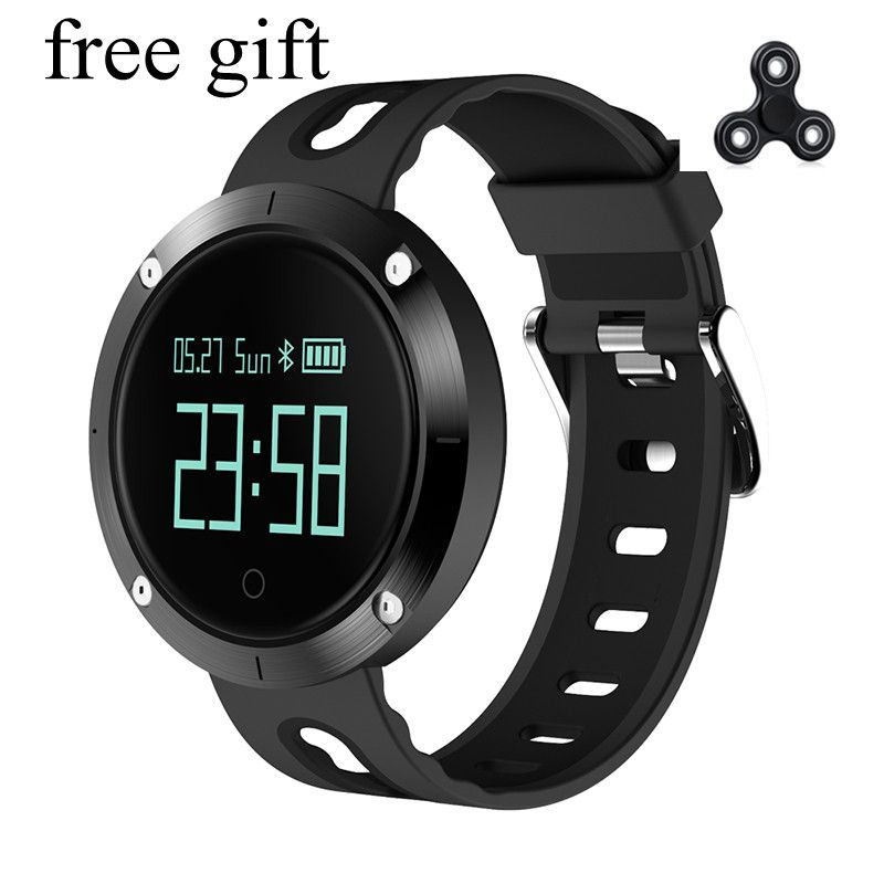 DM58 Smart Bracelet IP68 Waterproof Blood Pressure Heart Rate Monitor Call Reminder Sports Smart Band PK DM68 GT08 DZ09