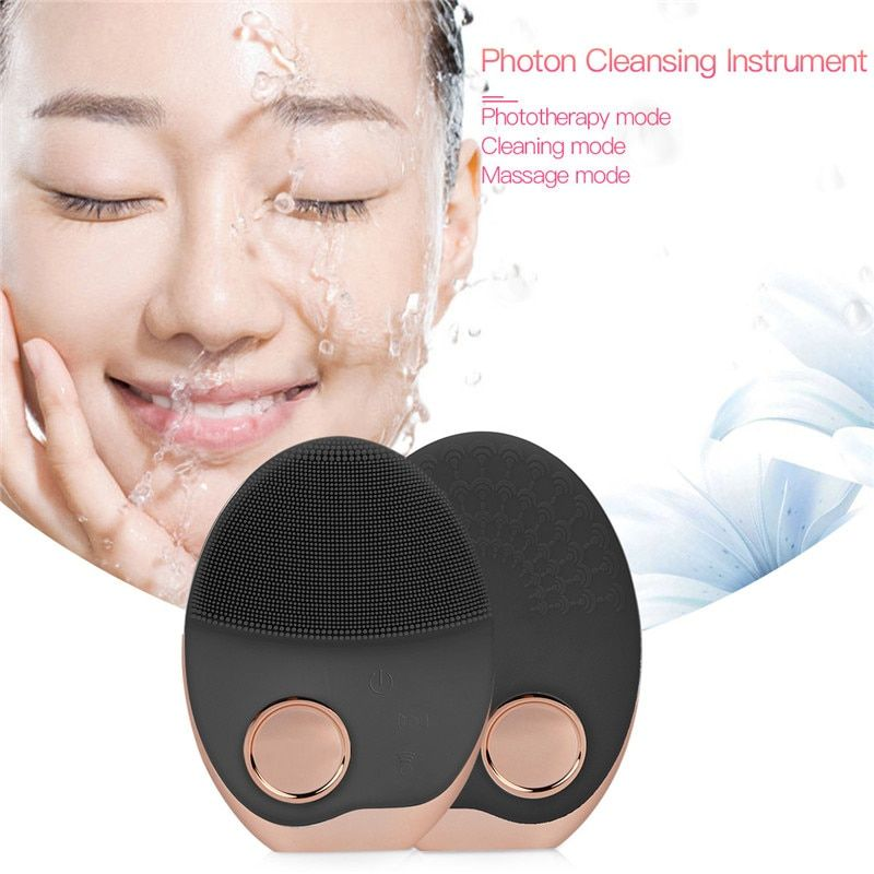 Brosse nettoyante électrique pour le visage Machine de nettoyage du visage nettoyant pour les pores nettoyant pour l'acné Massage nettoyant pour le visage masseur de beauté pour la peau
