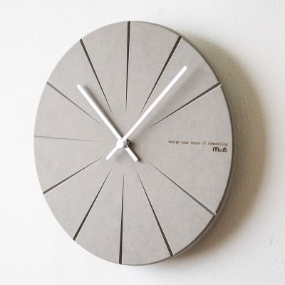 Silica gel New design concrete wall clock silicone moulds DIY home craft molds silicone cement round plate molds