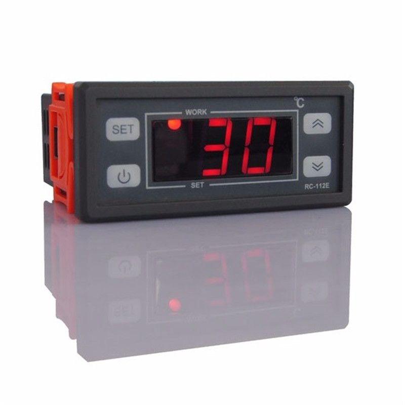 LCD Display Digital Thermostat Regulator Temperature Controller 220V/110V 10A For Domestic Freezer Water Tanks Refrigerator