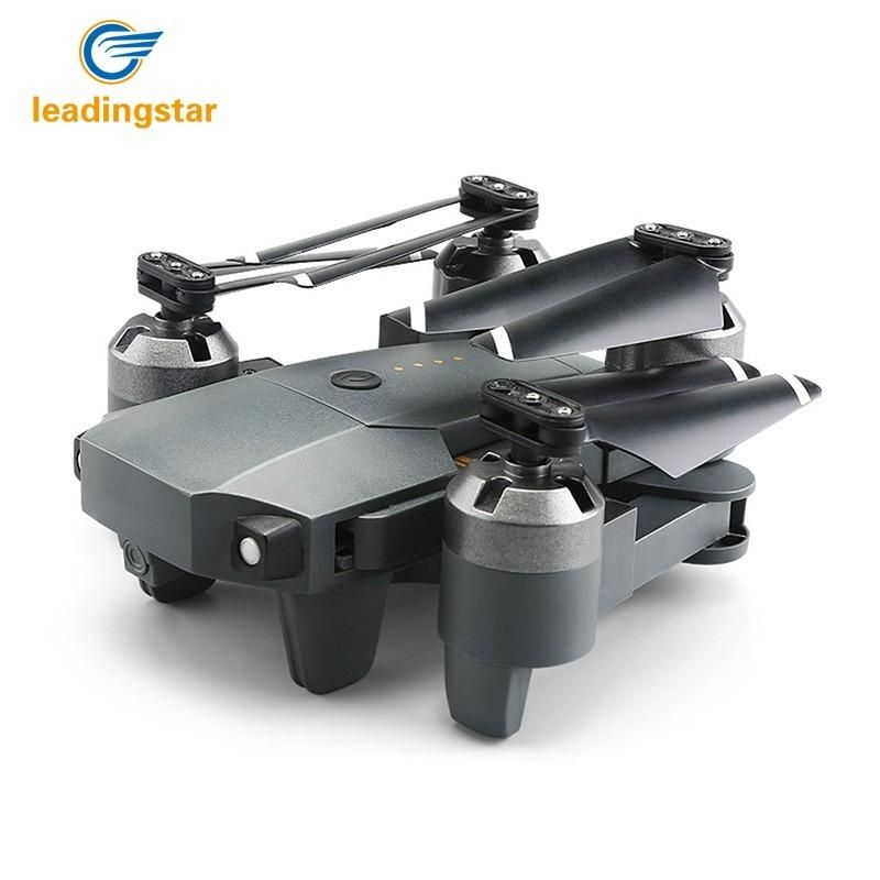 LeadingStar 2018 RC Drones XT-1 Drone With Camera HD Foldable RC Helicopter 2.4G 4 Channel 6-Axis RC Drone Wifi Real-time