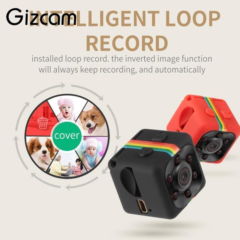 Gizcam Portable SQ11 HD 1080 P Maison De Voiture Capteur CMOS de Vision Nocturne Caméscope Micro Caméras Caméra DVR DV Enregistreur De Mouvement caméscope