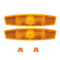 AQQ пара колесо для велосипеда безопасности спиц отражатель светоотражающий крепление Предупреждение велосипедный Отражатель свет