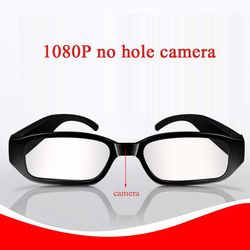 2018 NEW 1080p HD Smart eyeglasses mini video camera mini video recording  no hole video glass for outdoor sports recorder