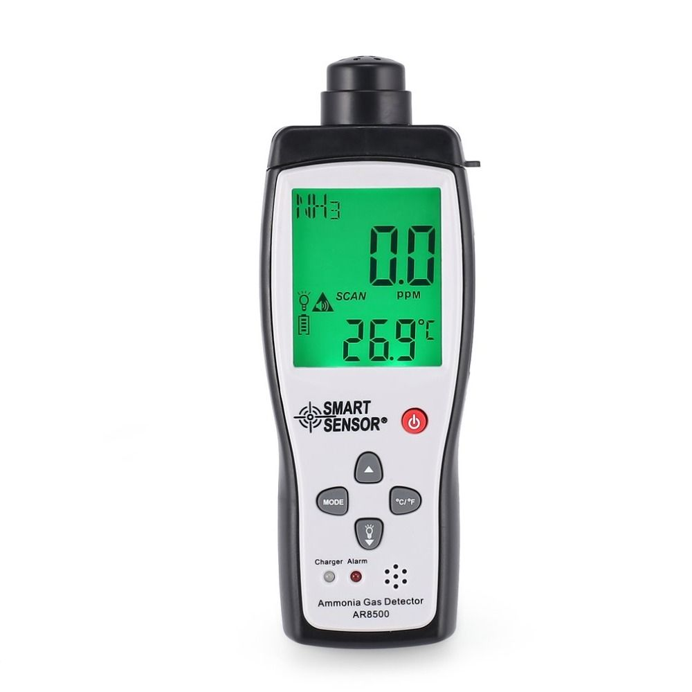 Smart Sensor AR8500 Air Quality Monitor Gas Meter Ammonia TEMP Detector Analyzer Handheld Tester Temperature Thermometer