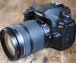 New Canon EOS 80D DSLR Camera Body with EF-S 18-135mm f/3.5-5.6 IS USM Lens Kit