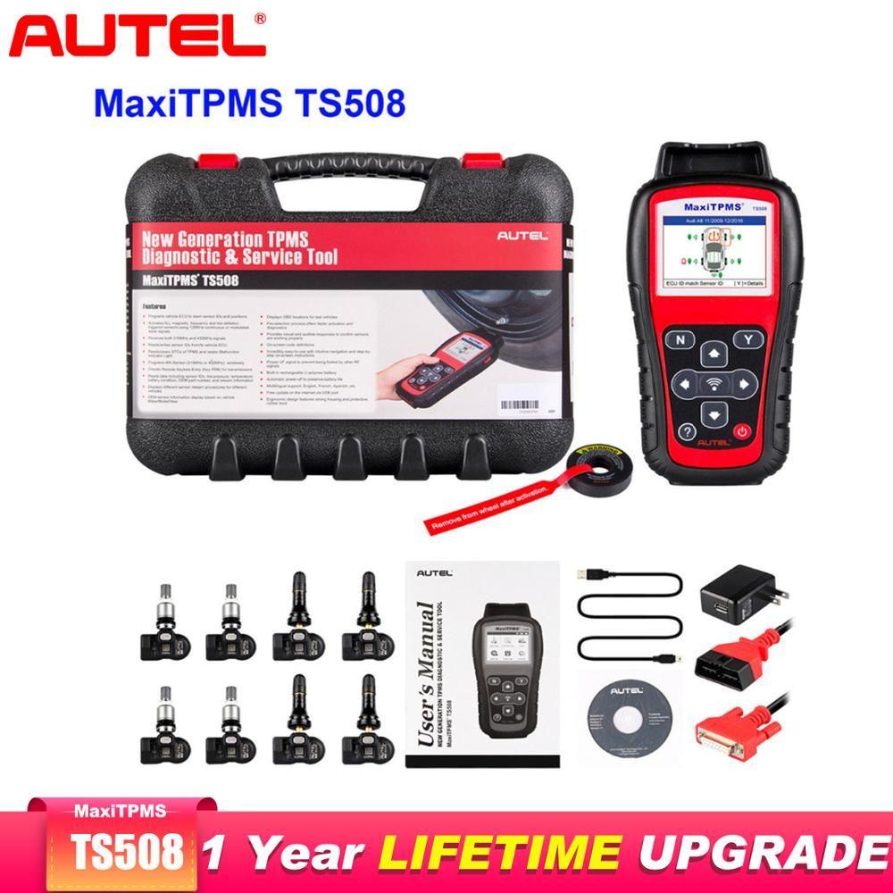 Autel MaxiTPMS TS508K Obd2 Scanner Auto Diagnose-tool Scaner AutomotivoTire Druck 315/433 mHZ TPMS Reifen Sensor Aktivierung