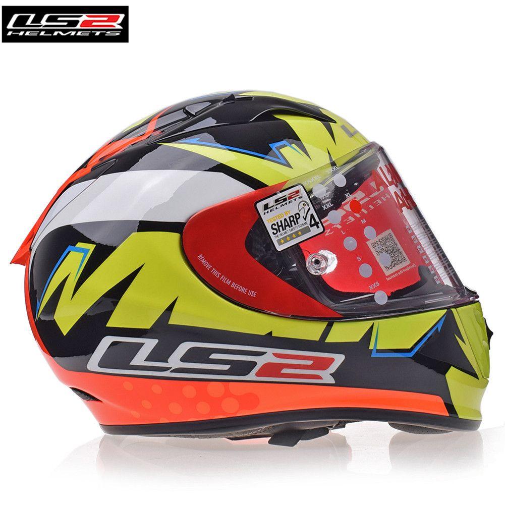 LS2 Helme FF323 PFEIL R EVO Full Face Motorrad Helm Racing Casque Casco Capacete Moto Helme Helm Kask Große Größe