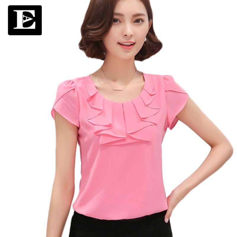 Eveingasky офисные Для женщин Рубашки для мальчиков Блузки для малышек белого розового и фиолетового цветов элегантные женские Шифоновая блузк...