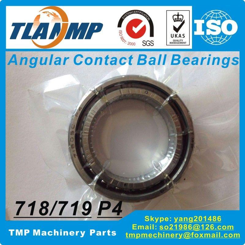 71904C/ 71904AC SUL P4 Angular Contact Ball Bearing (20x37x9mm)  TLANMP Slim ring types  Robotic arm use