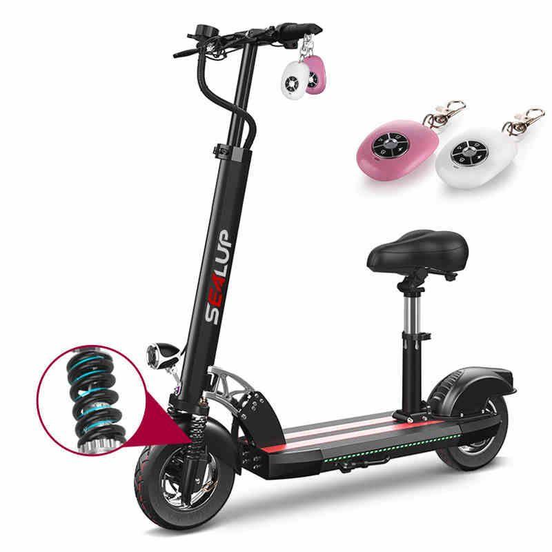 Elektrische scooter10inch elektrische fahrrad-lithium-batterie adult folding generation fahren twowheeled roller mini ebike lang rang