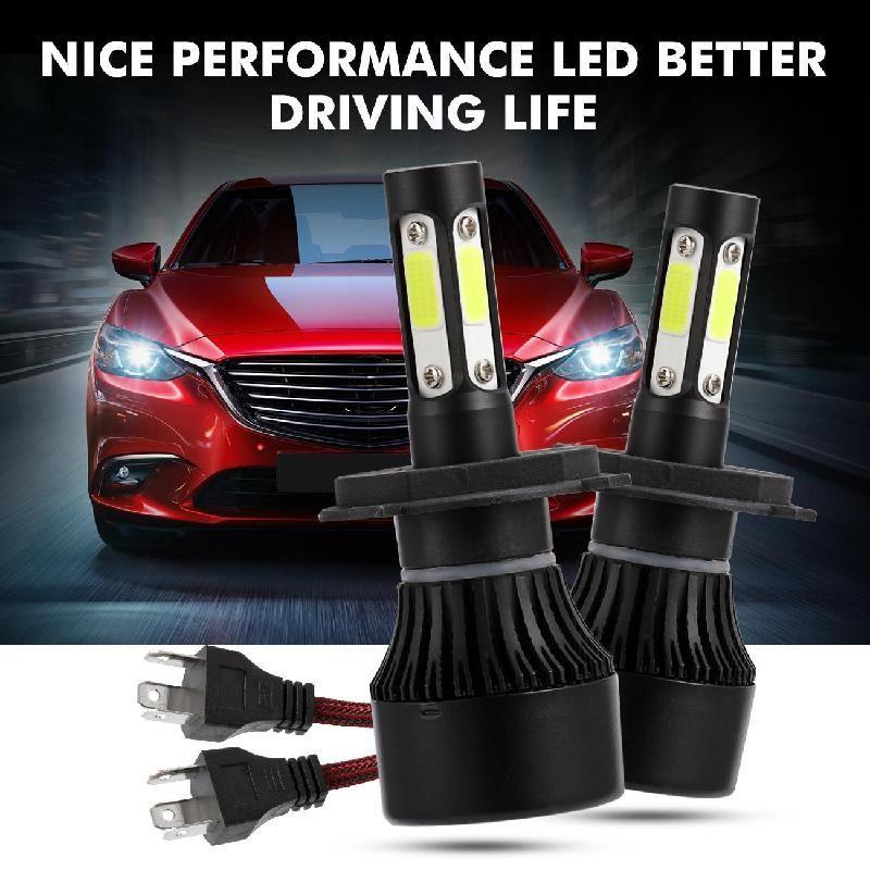 Auxmart H4 H7 H11 LED Headlight Bulb HB3 HB4 9005 9006 H13 LED Lamp Auto 100W 10000lm 6500K LED Car Light H 7 4 11 LED Headlamp