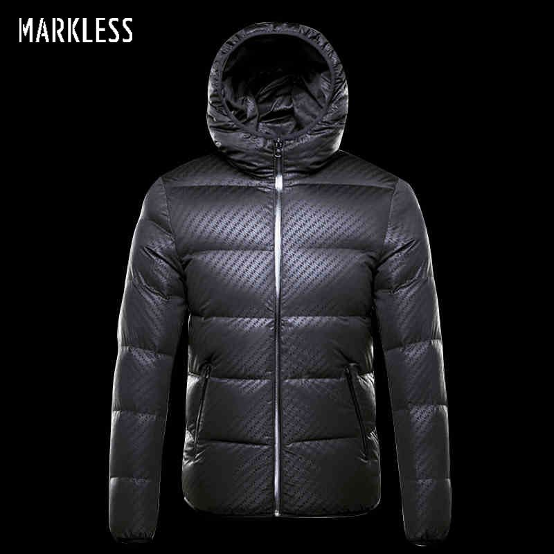 Markenlose Winter Nahtlose Daunenjacke Marke Kleidung Dicke 90% Weiß ente Unten Winddicht Warmen Mantel Mit Kapuze Parka für Männer und frauen