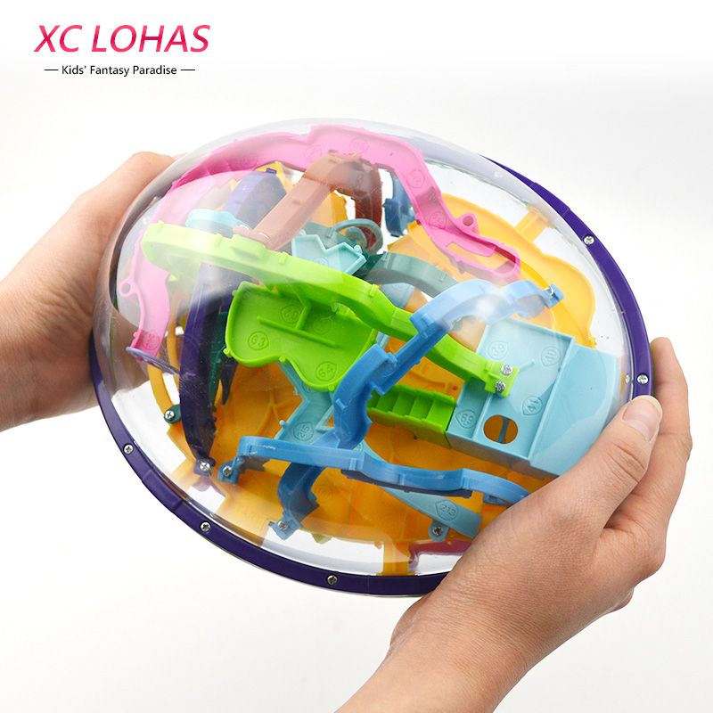 Educational Toys For Children 208-299 Steps Big Size 3D Perplexus Maze Ball Magic Intellect Puzzle Game Birthday Gifts