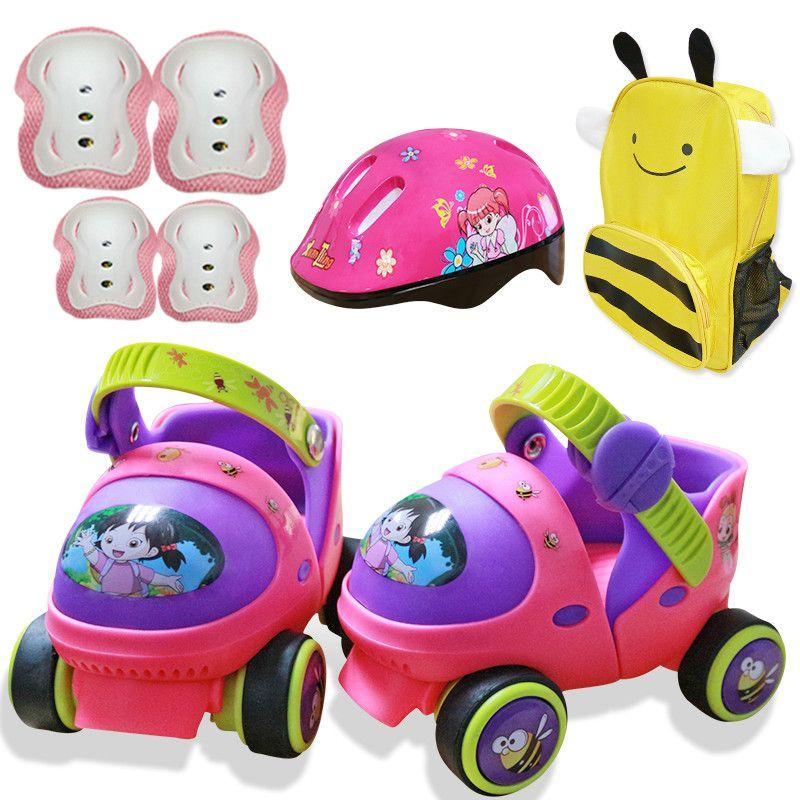 Einstiegsmodell Baby Rollschuh Mit Sicherheit Aus-Taste Widerstand Material Und Freies Schiebe
