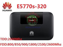 Unlocked Huawei E5770 4G Wifi Router Ethernet E5770s-320 4G Mobile WIFI Router 5200 MAh 4G Wifi Router power Bank RJ45 dengan USB