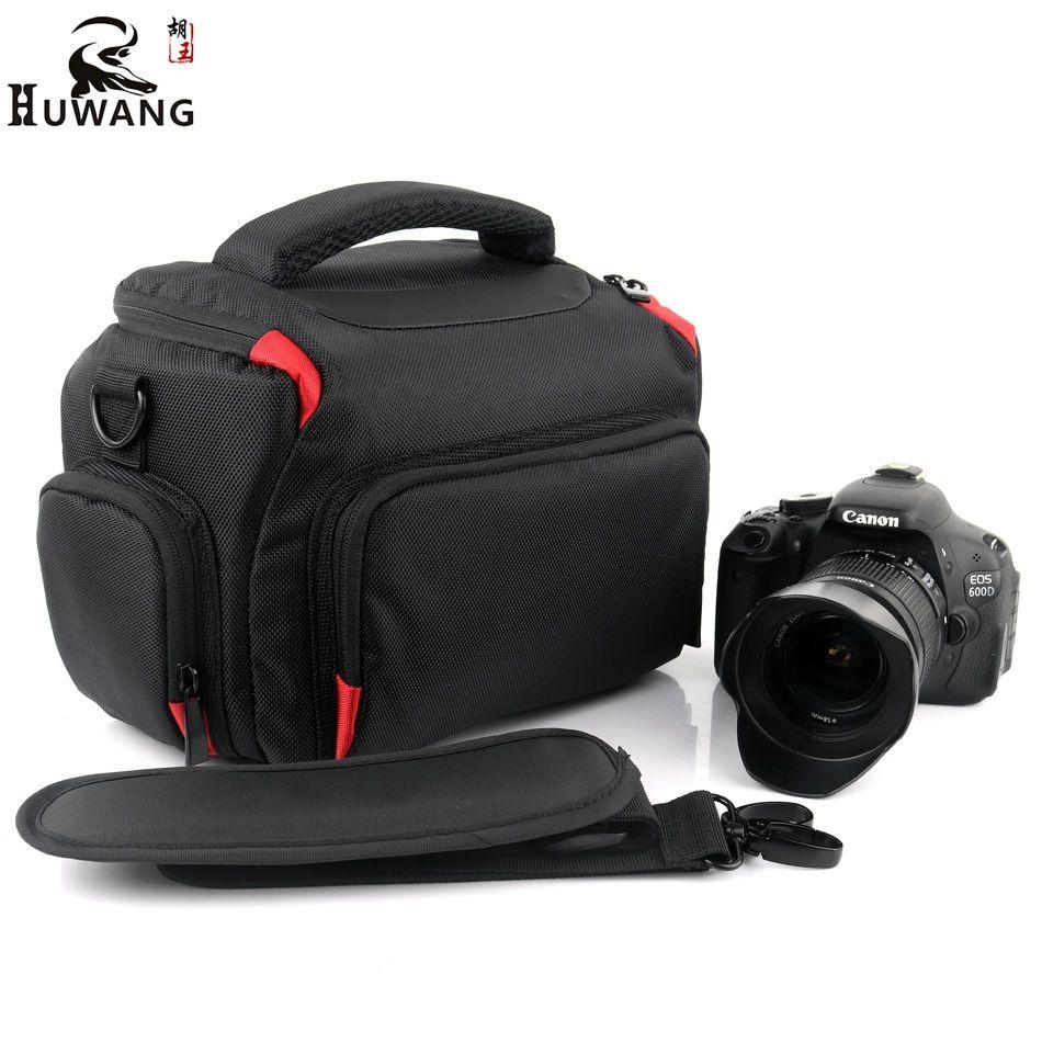 HUWANG 2018 High Quality Camera Bag For Nikon D5300 D3400 D7500 D40 Sony alpha A7 Mark ii iii A9 A77 Nikon Camera Bag Photo Case