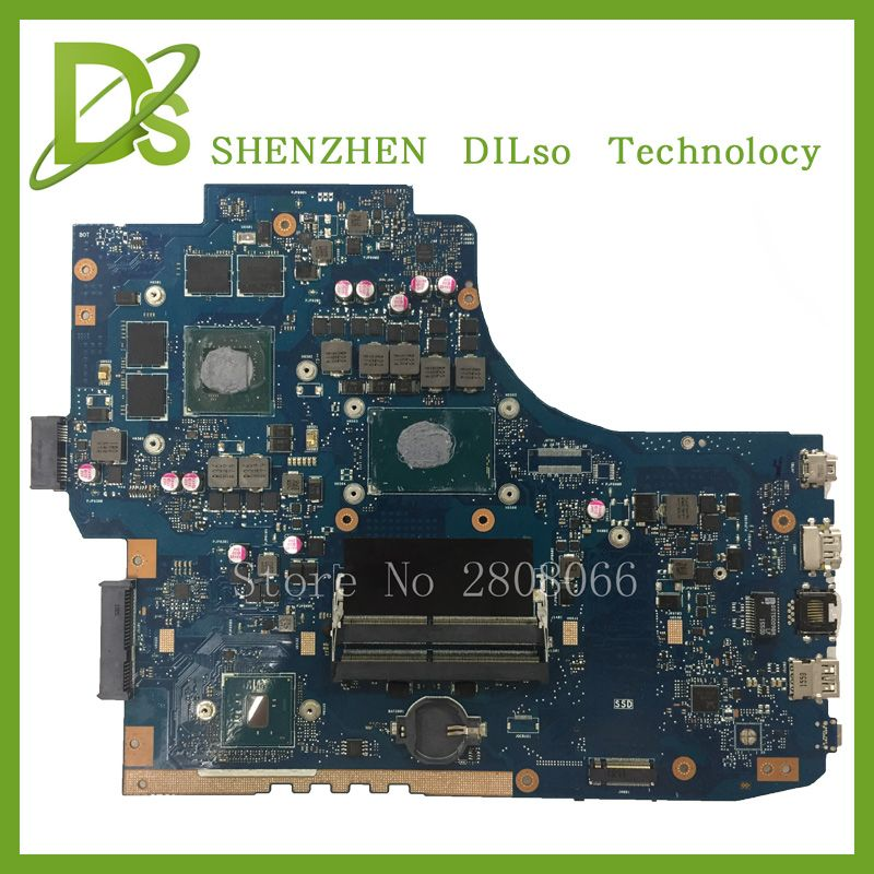KEFU G752VW motherboar For ASUS GL752VW Laptop motherboard GL752VW mainboard i7 CPU with graphics card 100% tested freeshipping
