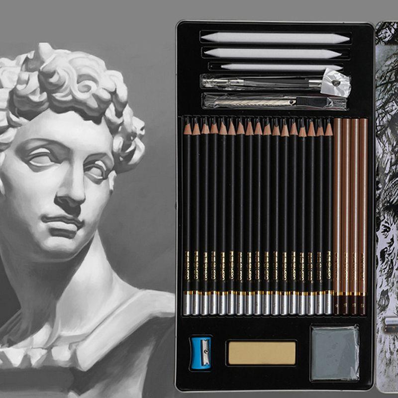 Crayon Doux Non-toxique Sûr Standard Crayons HB 2B 4B Peinture Professionnel Bureau École Dessin Esquisse Meilleure Qualité