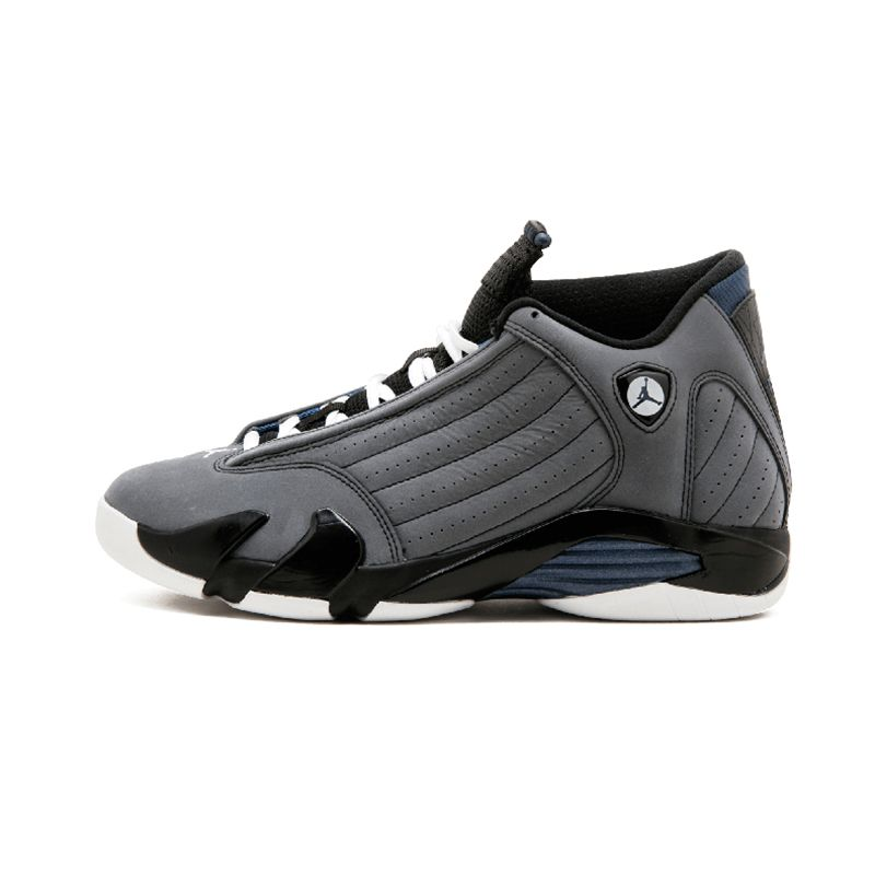 Jordan 14 Men Basketball Shoes Black Grey Black Toe Indiglo Last Shot Thunder Wolf Grey Athletic Outdoor Sport Sneakers