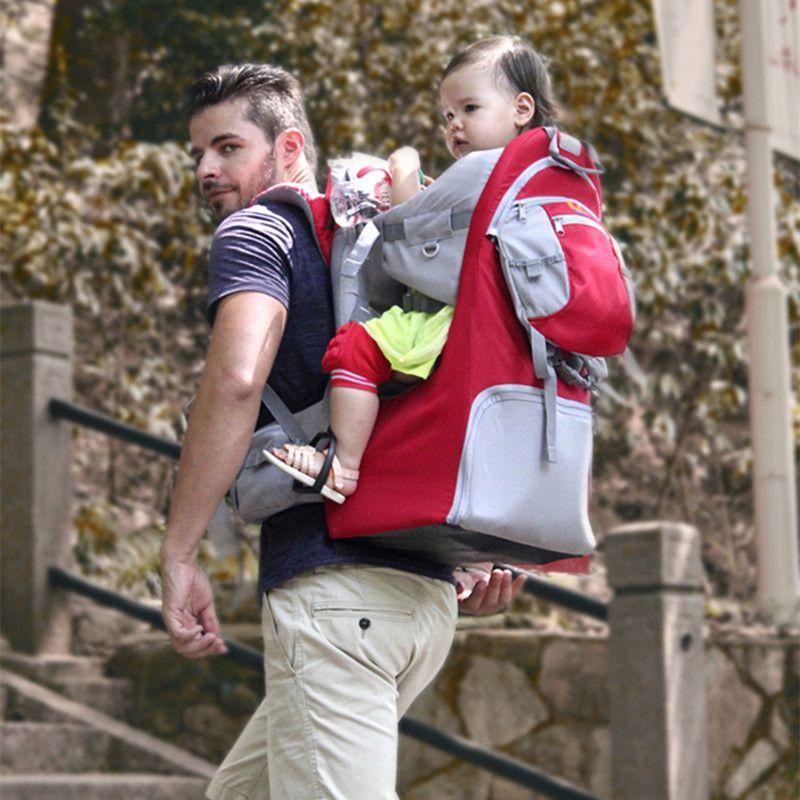 Faltbare Baby Reise träger Wasserdichte Baby toddlr Wandern Rucksack Outdoor Bergsteigen Schatten Baby zurück Rahmen Stuhl