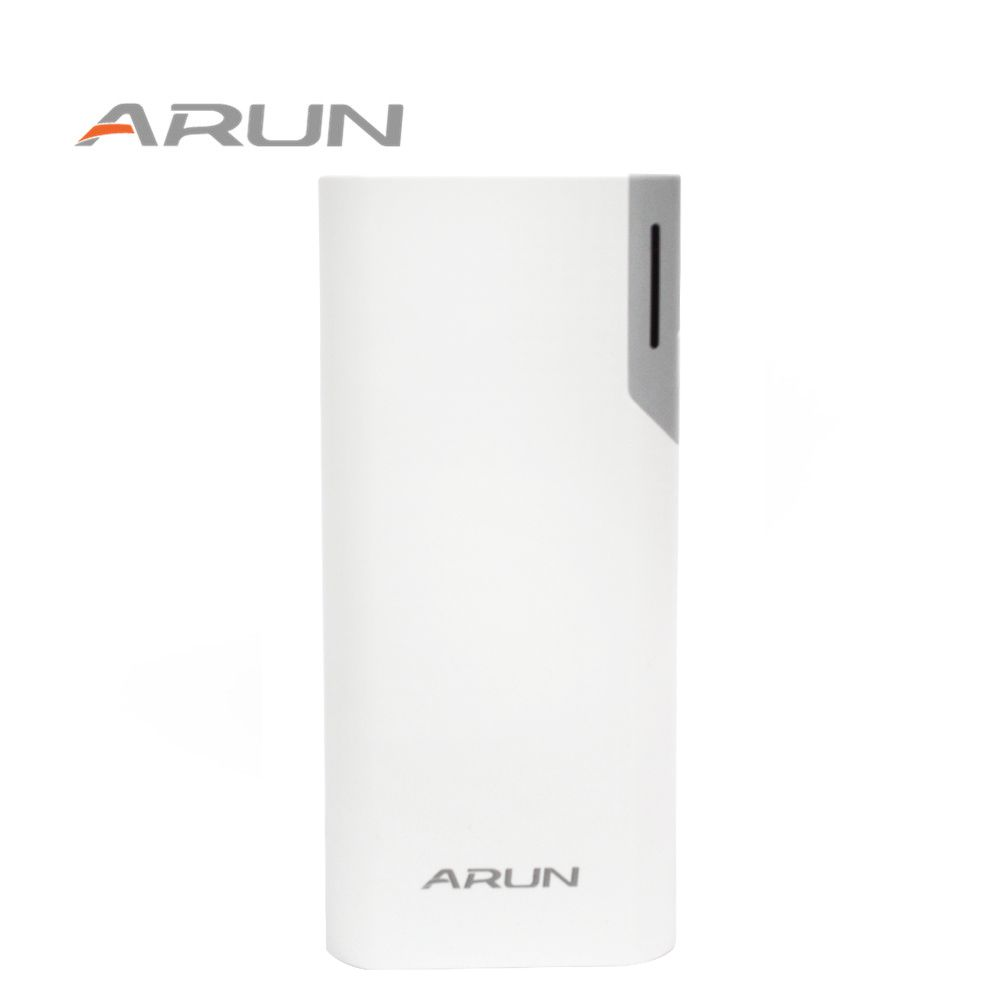 ARUN 10000 mah Dual USB Pory Low-key Luxus-Technologie Notstromversorgung für Samsung Xiaomi 5 Huawei LG