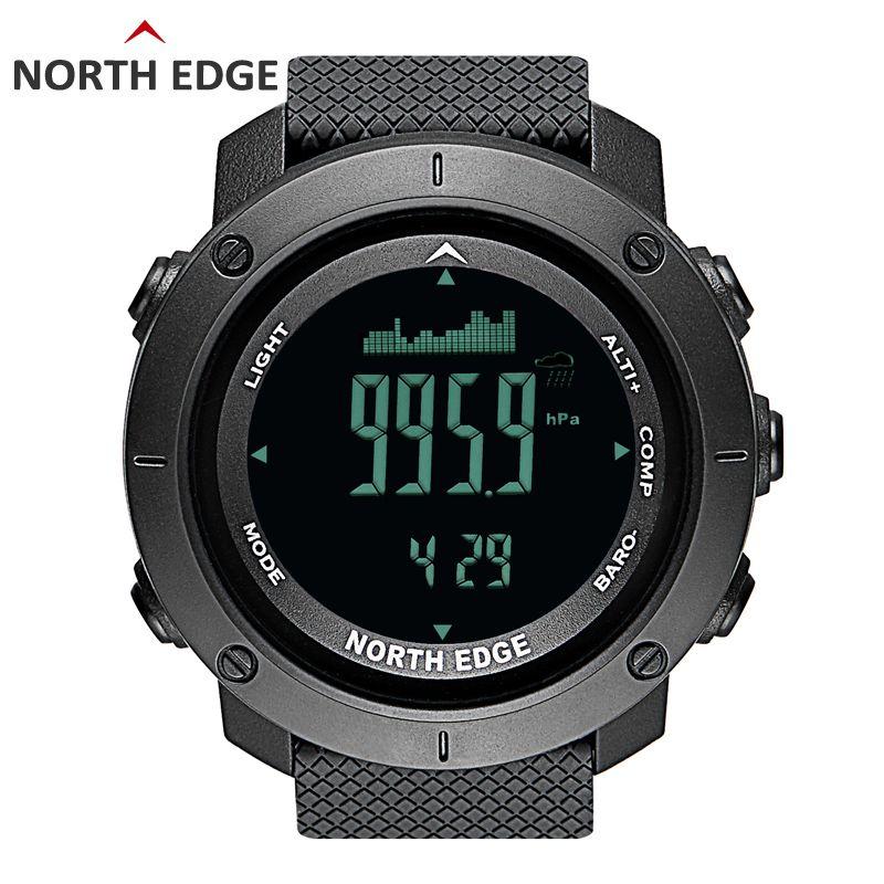 NORDEN RAND männer sport Digitale uhr Stunden Lauf Schwimmen Military Armee uhren Höhenmesser Barometer Kompass wasserdicht 50 mt