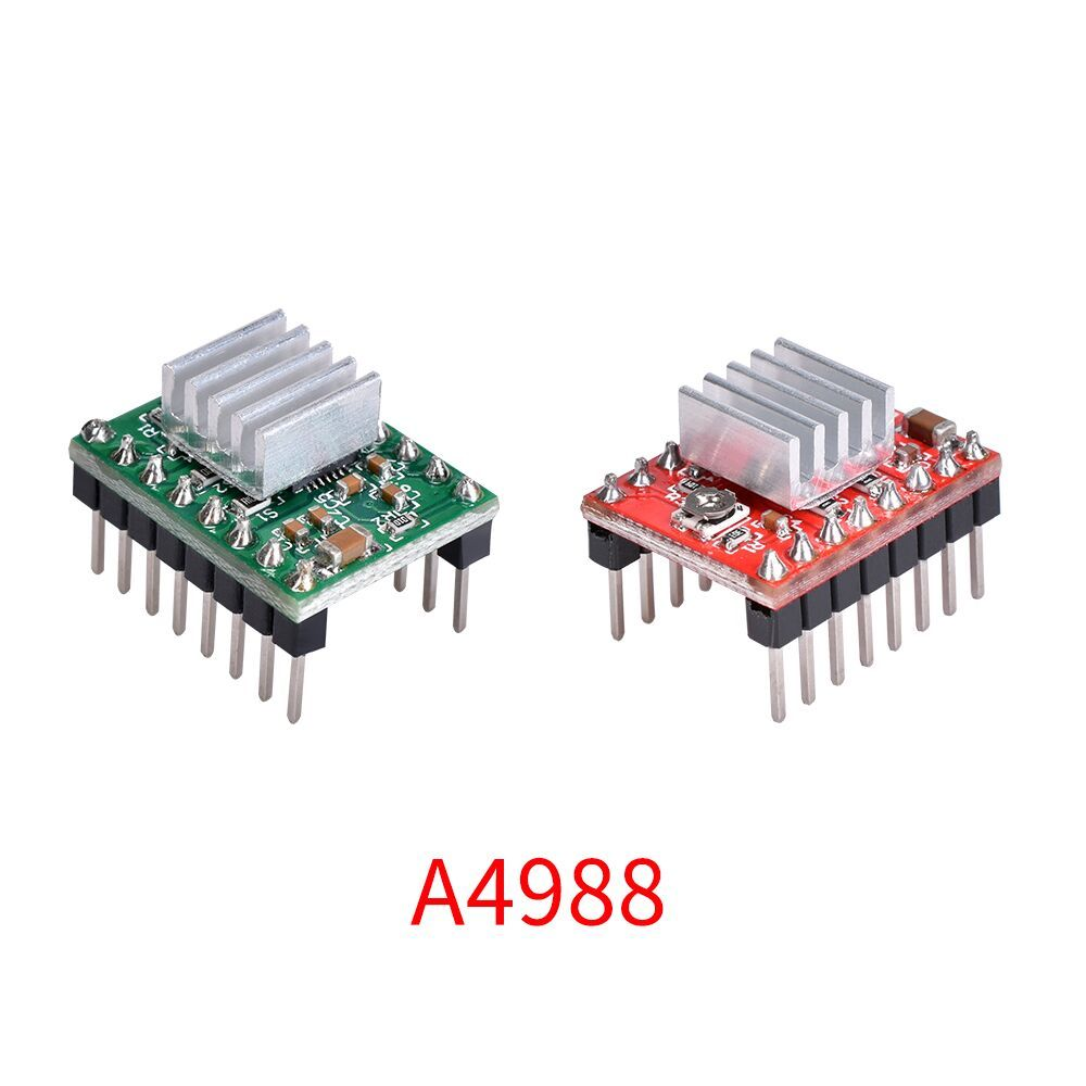 5PCS 3D Printer Parts Reprap A4988 Stepper Motor Driver Module With HeatSink Stepstick Like DRV8825 Compatible With Ramps 1.4