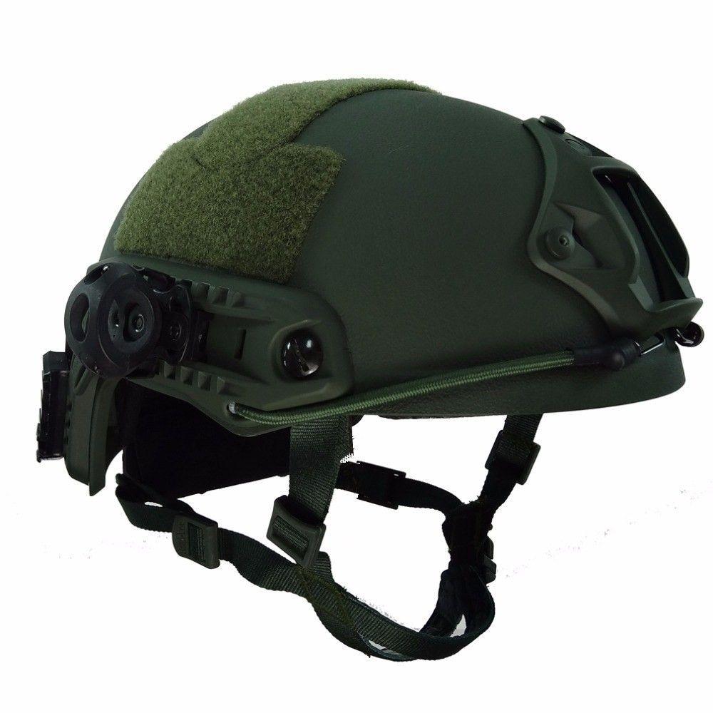 Armee Kampf Schutz Sport Helme NIJ IIIA SCHNELLE Taktische Aramid Kugelsichere Ballistischen Helm Paintball Sport Zubehör
