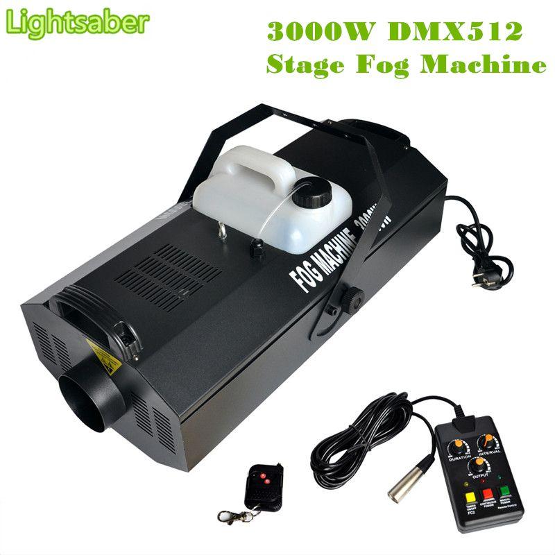 3000W Fog Machine DMX512 Regularly Quantitative Wireless Remote Control Fog Disco Club Smoke Machine Maquina De Humo