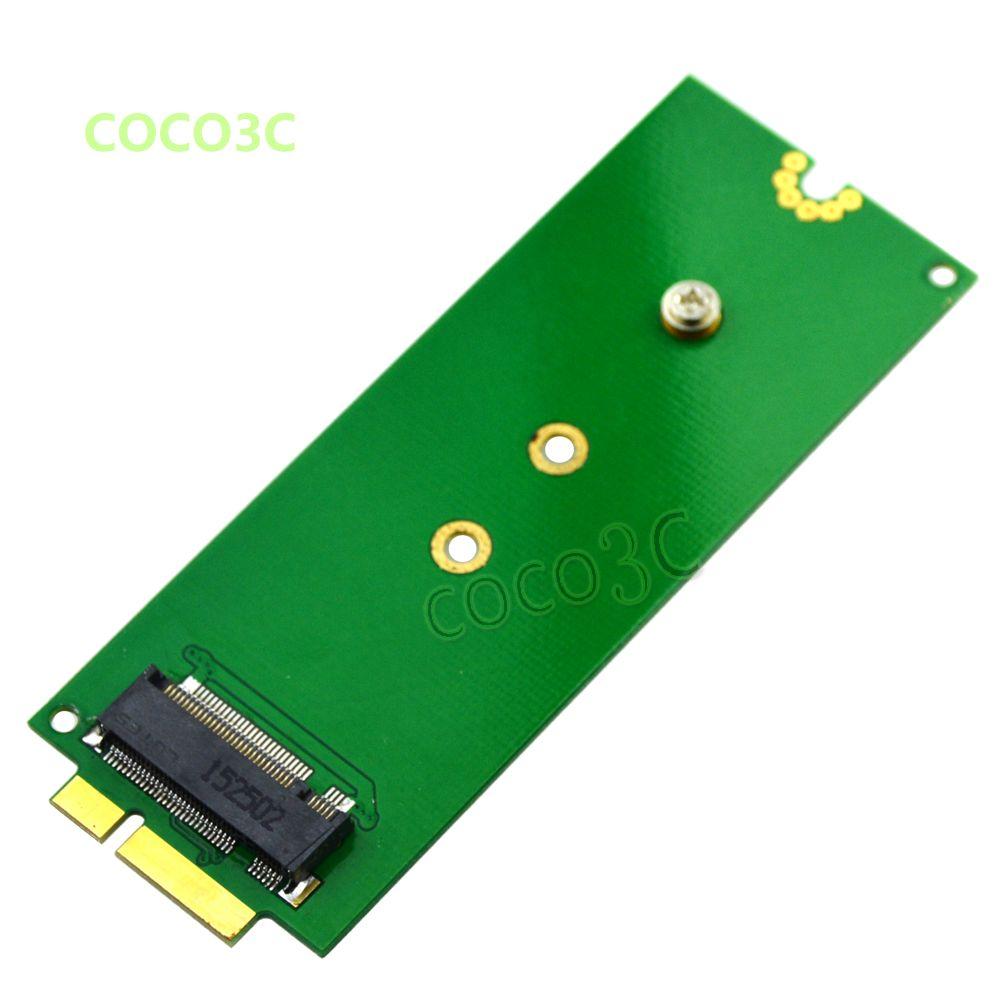 B key M.2 SSD adaptateur comme SSD pour 2012 MACBOOK PRO Retina A1398 MC975 MC976 pour SanDisk X110 Transcend MTS400